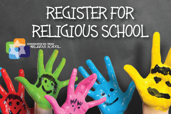 Religious School Registration